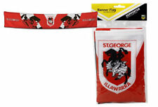 NEW NRL ST GEORGE ILLAWARRA DRAGONS FOOTY BANNER FLAG HANGING PARTY FLAGS