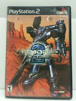 Armored Core 2 for Sony PlayStation 2 PS2 - Complete with Manual CIB