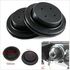 A Pair Black Flexible Rubber LED Healdight Retrofit Re-seal Seal Cap Dust Covers