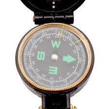 Kompass Taschenkompass Draussen Marschkompass Peil Bundeswehr US- Army-compass
