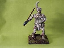 Los Demonios Caos de Warhammer Ejército-Daemon Prince arañazos construido ninguno GW Pintado