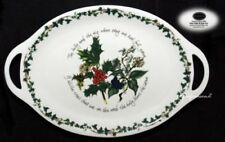 The Holly and The Ivy Portmeirion Pottery Platters