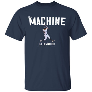Men's The Machine DJ LeMahieu New York Yankees Logo 2021 T-shirt S-4XL