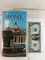 Rome: A Complete Guide for Visiting the City: Edoardo Bonechi 4th Edition (1974)