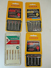Vtg Singer Sewing Machine Needles 2020 2021 2045 New Lot (4) Pkgs West Germany