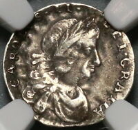 1683 NGC VF 30 Charles II Penny Mint Error Great Britain Silver Coin (19123101C)