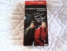 An American Werewolf In London Vhs David Naughton Signed 80'S Horror John Landis