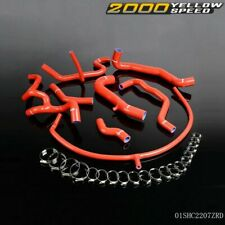 UK 94-98 For VW Golf MK3 VR6 2.8 2.9 Silicone Radiator Turbo Hose & Clamps
