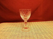 """Royal Brierley Crystal Coventry Pattern Wine Goblet 5 1/4"""" x 2 3/4"""""""