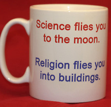 Science flies you to the moon. Religion flies you into buildings. Stenger - Mug