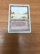 mtg Badlands Dual Land. Revised/3rd Edition. GD-EX Condition