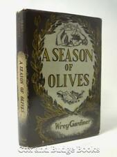 WREY GARDINER A Season of Olives 1948 1st/1st HB DW the poet's first novel