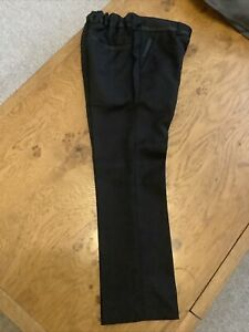 NEXT Age 6 Yrs Black Formal Tuxedo Suit Trousers New With Tags