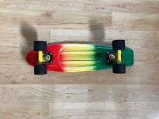 PENNY BOARD RASTA COLORS AWESOME CONDITION