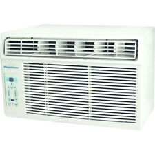 """10,000 BTU Window-Mounted Air Conditioner with """"Follow Me"""" LCD Remote Control"""