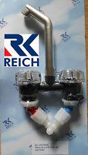 Reich Deluxe Mixer Tap, Mat/Nickel, For Caravan/Motorhome/Boat, New