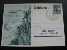 THIRD REICH 1937 Winterhilfswerk postcard w/ commemorative cancel! #2