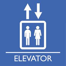 "Elevator Sign 8"" x  8"""