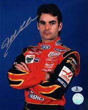 JEFF GORDON SIGNED AUTOGRAPHED 8x10 PHOTO NASCAR RACING LEGEND BECKETT BAS