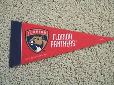 "Florida Panthers Nhl Hockey Team Mini 9"" Souvenir Felt Pennant Flag New"