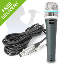 DM57A Vocal Microphone Cardioid Dynamic Mic Singers Band Rehearsal Performance