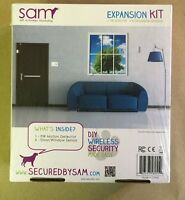 NEW Sam self activated monitoring expansion kit DIY wireless security