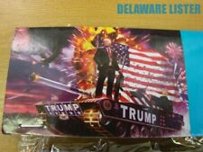 Wholesale lot of 6 President Trump 3'x5' Flag/Banner Military Tank 2020