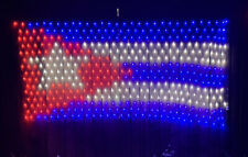 Cuban flag 420 led string lights