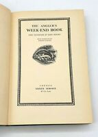 The Angler's week-end book by Eric Taverner & John Moore - 1935 - Fishing book