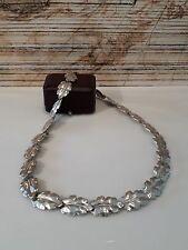 Antikes Collier Silber 835, wunderschöne Verarbeitung, Art Deko um 1940