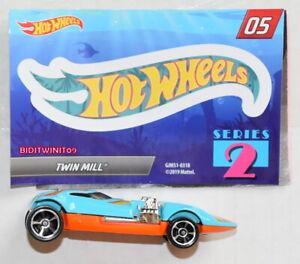 HOT WHEELS 2019 MYSTERY CAR SERIES 2 TWIN MILL #05
