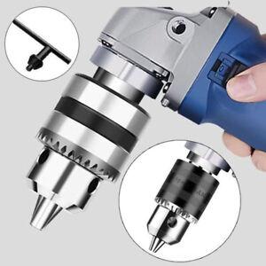 1.5-10mm Elektrisch Winkelschleifer Bohrfutter mit Schlüssel Drehbank Zubehör