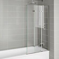 800mm Luxury Folding Bath Shower Glass Screen Pivot Door Panel - Right Hand