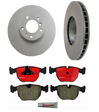 For BMW E39 540i 1997-2000 Complete Front Disc Brake Pads KIT w// Rotors Brembo