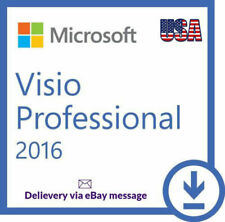 MS Visio Professional 2016 License Key For 1 PC