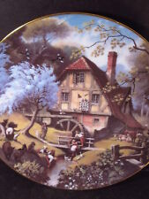 Danbury Mint  Story of a Country Village Robert Hersey THE OLD MILL Ltd Ed Plate