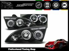 FARI ANTERIORI HEADLIGHTS LPFO14 FORD FOCUS II 2004-2006 2007 2008 ANGEL EYES