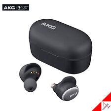 Harman AKG N400 True Wireless Bluetooth Earphones ANC Canal - Black
