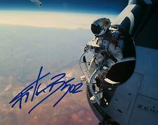 Felix Baumgartner Signed Autographed 8x10 Photo AUTHENTIC Red Bull Stratos