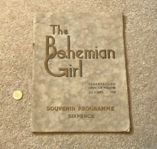 More details for 1939 the bohemian girl open air theatre scarborough programme #scar