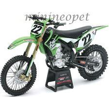 NEW RAY 57687 TWO TWO KAWASAKI KX 450F #22 DIRT BIKE MOTORCYCLE 1/12 CHAD REED