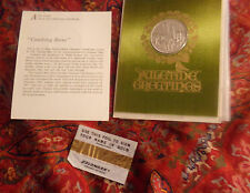 3 1969 FRANKLIN MINT CHRISTMAS COINS