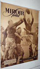 MIROIR SPRINT 28-01 1947 N°36 RUGBY EIRE BERGERAC CYCLISME BOXE FOOTBALL LYON OU