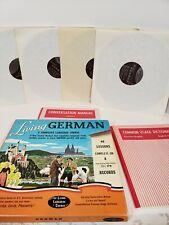 Living German Complete Language Course 4 Lp's 2 Manuals 40 Lessons