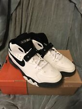 Nike Air Force Max 2013 Barkley SZ 13 White Black CB34 180 Black Retro