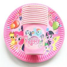 Party :  Paper Plate Cups Set My Little Pony Party Needs 10 pcs