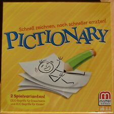 Mattel Pictionary DHH87 Spiel  Neu & Ovp Familie Party Grill
