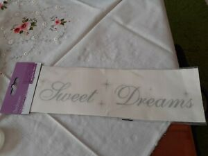 Sweet Dreams DIY Wall Sticker Bedroom New