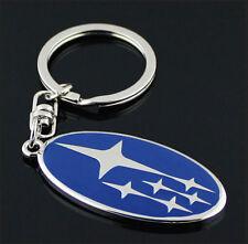 WFN Auto Car Keyring Subaru Gift Keychain Metal Key Chain Ring pendant Keyfob