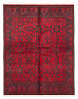 """Vintage Hand-Knotted Carpet 5'11"""" x 7'6"""" Traditional Oriental Wool Area Rug"""